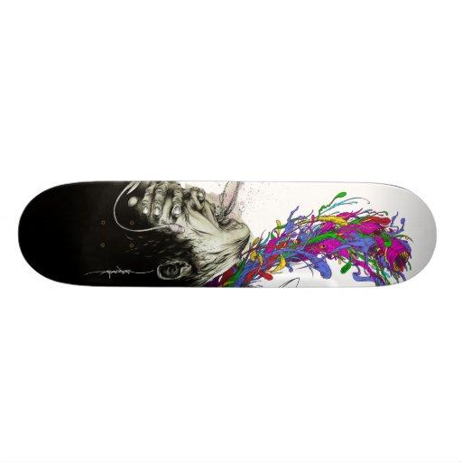 """Alex Pardee """"Escaped Convict(ion)"""" Skate Board"""