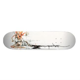 """Alex Pardee """"Geek Love"""" 18.1 Cm Old School Skateboard Deck"""