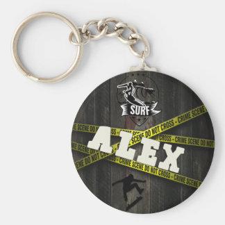 ALEX - Skater Style Key Ring