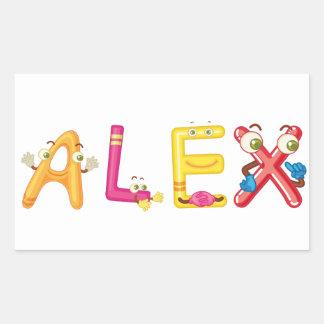 Alex Sticker