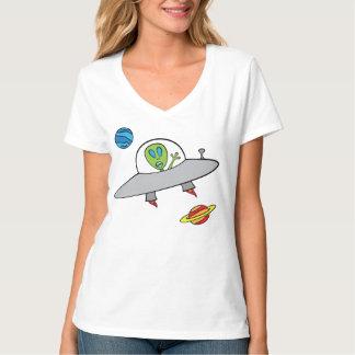 Alex the Alien - Nano V-Neck T-Shirt, T-Shirt