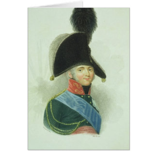 Alexander (1777-1825) the Great Emperor of all the Card