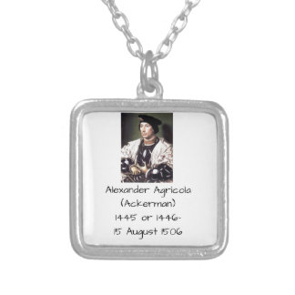 Alexander Agricola (Ackerman) Silver Plated Necklace