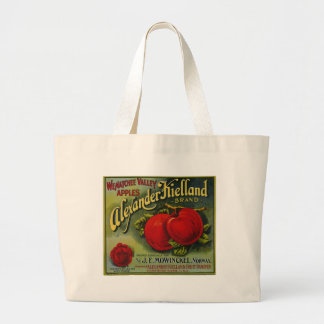 Alexander Apples Large Tote Bag