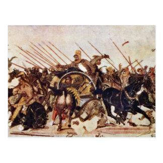 Alexander Battle Details By Meister Der Alexanders Postcard
