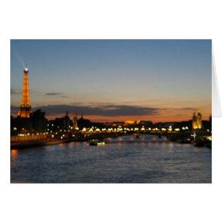 Alexander Bridge Paris Greeting Card