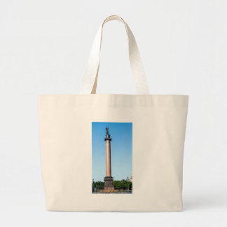Alexander Column Palace Square St Petersburg Large Tote Bag