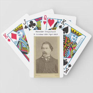 Alexander Dreyschock Bicycle Playing Cards