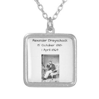 Alexander Dreyschock Silver Plated Necklace