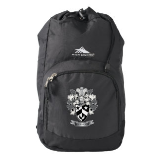 Alexander Family Crest Coat of Arms Backpack