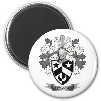 Alexander Family Crest Coat of Arms Magnet