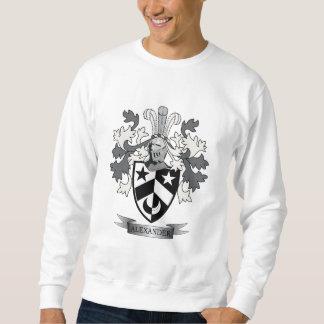 Alexander Family Crest Coat of Arms Sweatshirt