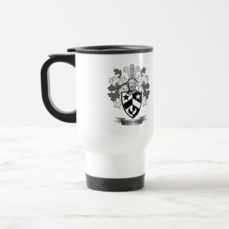 Alexander Family Crest Coat of Arms Travel Mug
