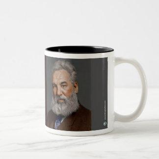 Alexander Graham Bell Two-Tone Coffee Mug