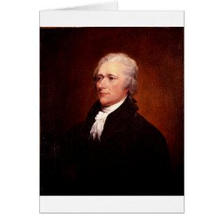 Alexander Hamilton Card