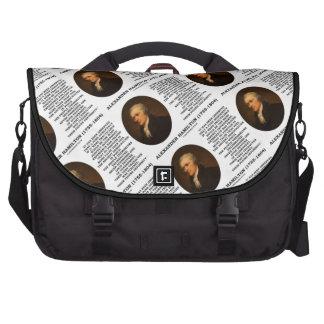 Alexander Hamilton Democracy Experience Tyranny Laptop Commuter Bag