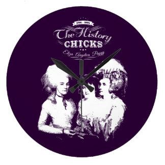 Alexander Hamilton. Eliza, Angelica, Peggy. Large Clock