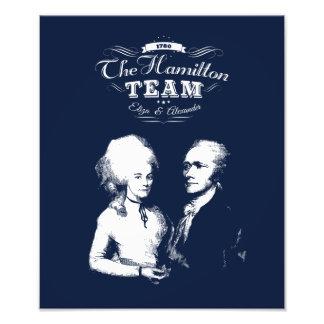 Alexander Hamilton, Eliza. History Gifts. Portrait Photo Print