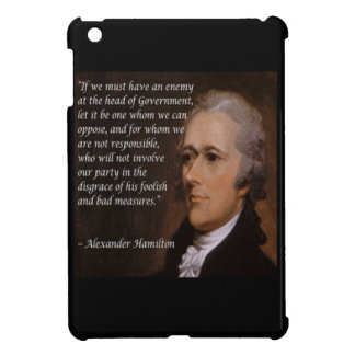 "Alexander Hamilton ""Enemy Leader"" Gift Cover For The iPad Mini"