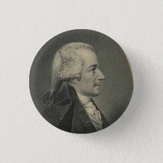Alexander Hamilton engraving button
