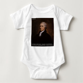 Alexander Hamilton Gifts Baby Bodysuit
