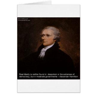 Alexander Hamilton Gifts Card