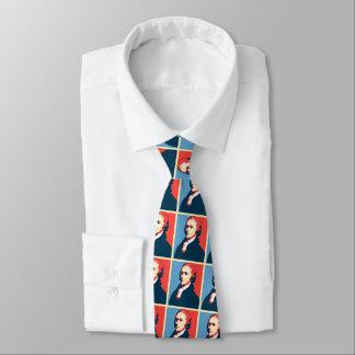 Alexander Hamilton Pop Art Portrait Tie