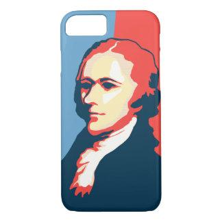 Alexander Hamilton Poster Style Portrait iPhone 8/7 Case