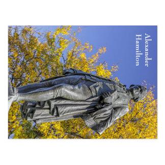 Alexander Hamilton Statue Postcard