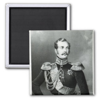 Alexander II  of Russia Square Magnet