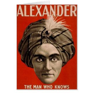 Alexander Knows Card