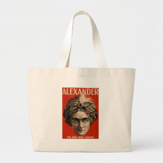 Alexander Knows Large Tote Bag