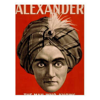 Alexander Knows Postcard