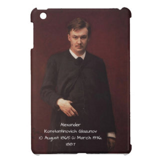 Alexander Konstamtinovich Glazunov 1887 Case For The iPad Mini