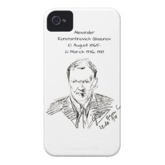 Alexander Konstamtinovich Glazunov 1918 Case-Mate iPhone 4 Case