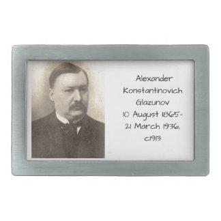 Alexander Konstamtinovich Glazunov c1913 Belt Buckle