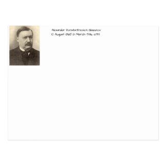 Alexander Konstamtinovich Glazunov c1913 Postcard