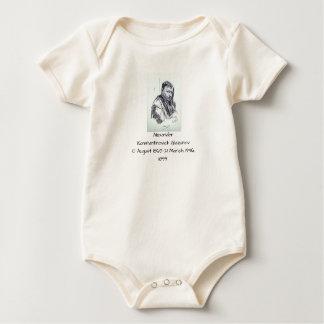 Alexander Konstantinovich Glazunov 1899 Baby Bodysuit