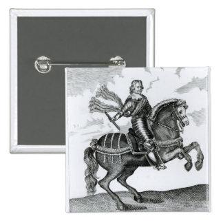 Alexander Leslie  1st Earl of Leven 15 Cm Square Badge