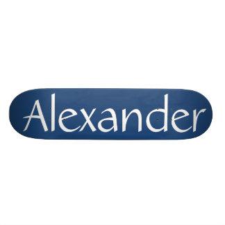 Alexander name skateboard skateboard deck