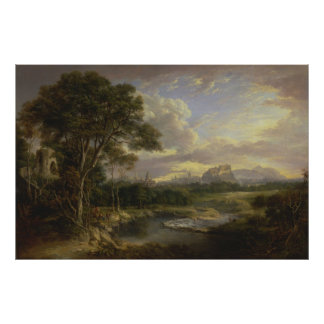 Alexander Nasmyth - View of the City of Edinburgh Poster
