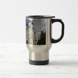 Alexander Nevsky Cathedral peace joy love Travel Mug