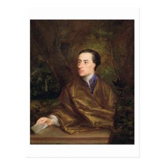 Alexander Pope (1688-1744) 1738 (oil on canvas) Postcard