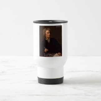 """Alexander Pope """"To Err Human"""" Wisdom Quote Gifts Travel Mug"""