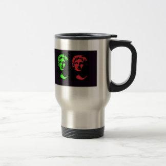 Alexander the Great Collage Travel Mug