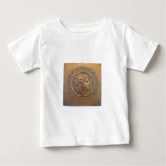 ALEXANDER THE GREAT COPPER WALL ART BABY T-Shirt