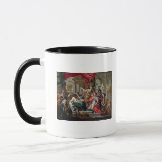 Alexander the Great in the Temple of Jerusalem Mug