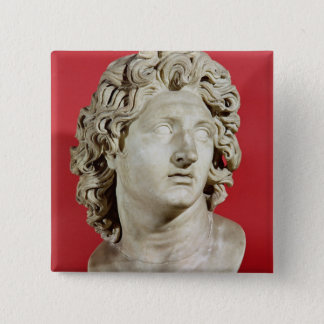 Alexander the Great  King of Macedonia 15 Cm Square Badge