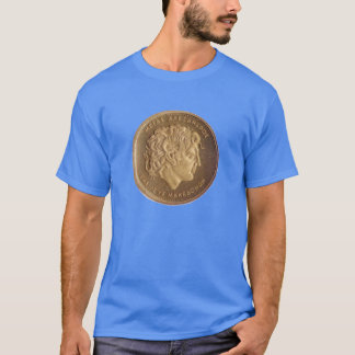 Alexander the Great, king of Macedonians T-Shirt