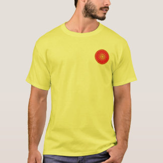 Alexander the Great Macedonian Red & Gold Shirt